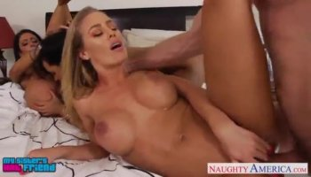 Goldie Oritz twat nailed by massive dick