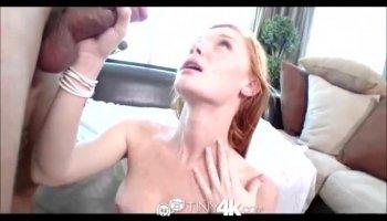 Teen Elizabeth Jolie shows off her slutty goods to stepbro